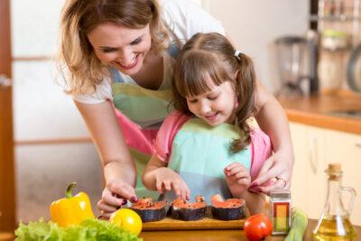 Рыба и морепродукты: все лучшее – детям!